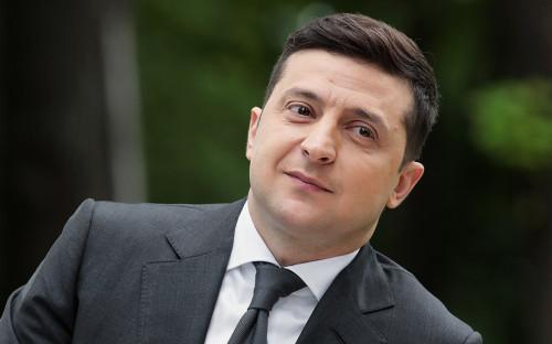 The President Of Ukraine Vladimir Zelensky