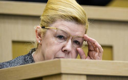 <p>Заместитель председателя комитета Совета Федерации по&nbsp;конституционному законодательству и&nbsp;государственному строительству Елена Мизулина</p>