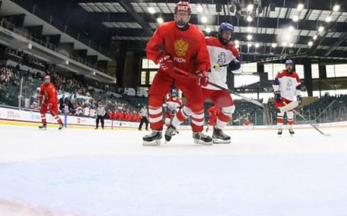 Фото: Россия - Чехия (Фото: cайт Федерации хоккея страны)