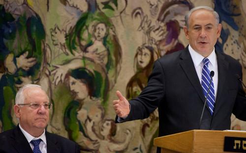 Реувен Ривлин и Биньямин Нетаньяху
