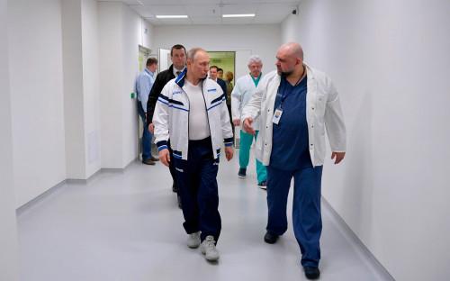 Владимир Путин иДенисПроценко