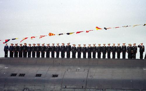 Экипаж подводной лодки «Курск» 30 июля 2000 года