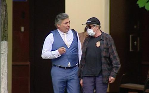 <p>Адвокат Эльман Пашаев&nbsp;и Михаил Ефремов</p>