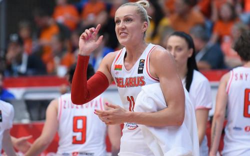 Баскетболистка Елена Левченко