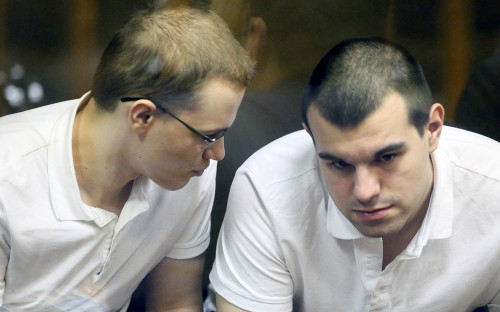 Вячеслав Крюков и Руслан Костыленков