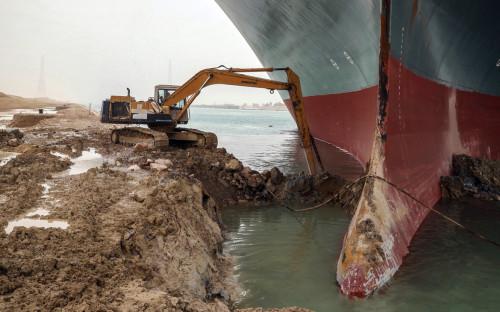 Фото:Suez Canal Authority / dpa / Global Look Press