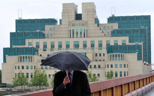 <p>Здание британской Секретной разведывательной службы</p>