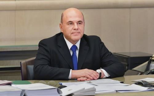 <p>Михаил Мишустин</p>