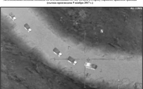 """<p>14 ноября 2017 года группа расследователей Conflict Intelligence Team (CIT) <a href=""""http://www.rbc.ru/politics/14/11/2017/5a0ac1509a79476b05a432c7"""">сообщила</a>, что Минобороны России использовало в качестве &laquo;неоспоримого подтверждения&raquo;, что США только имитируют борьбу с &laquo;Исламским государством&raquo; (ИГ, организация запрещена на территории России), скриншот из мобильной игры AC-130 Gunship Simulator: Special Ops Squadron и фрагменты видеозаписи иракских ВВС, а не данные съемки от 9 ноября 2017 года, как ведомство писало в своем Twitter. Позднее фото исчезли из публикации. В Минобороны <a href=""""http://www.rbc.ru/politics/14/11/2017/5a0b14ed9a794739f296f0bf?from=newsfeed"""">объяснили</a> случившееся ошибкой одного из сотрудников.<br /> &nbsp;</p>"""