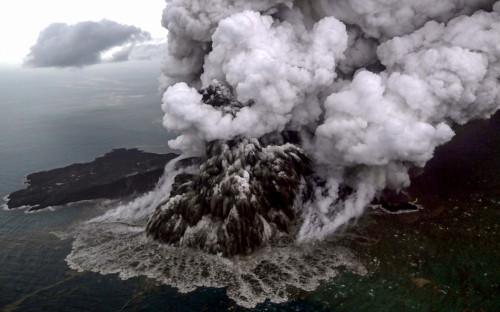 Извержениевулкана Анак-Кракатау