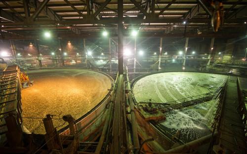 Талнахская обогатительная фабрика в Норильске