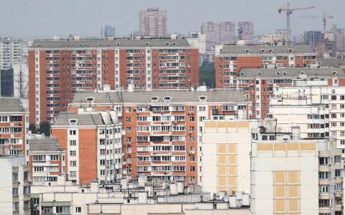 Окрестности станции метро «Тульская» в Москве