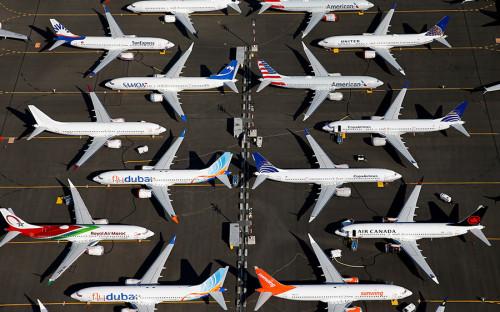 Boeing в январе впервые за почти 60 лет не получил заказов на самолеты