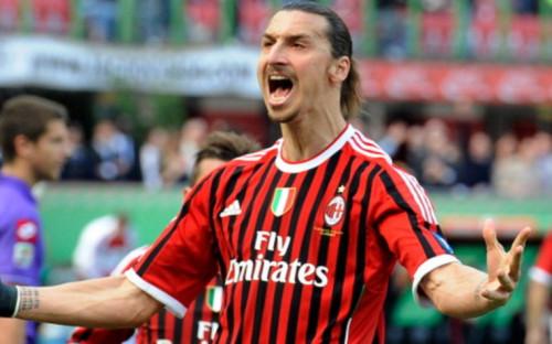 """Фото:Златан Ибрагимович, """"Милан"""" (Фото: Getty Images)"""