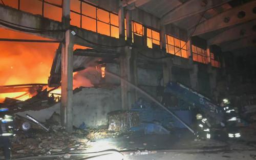 Пожар на Рязанском проспекте в Москве