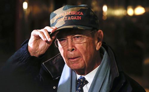 <p>79-летний миллиардер Уилбур Росс</p>  <p></p>