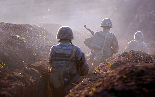 Фото: Armenian Defense Ministry Press Service / PanPhoto / AP