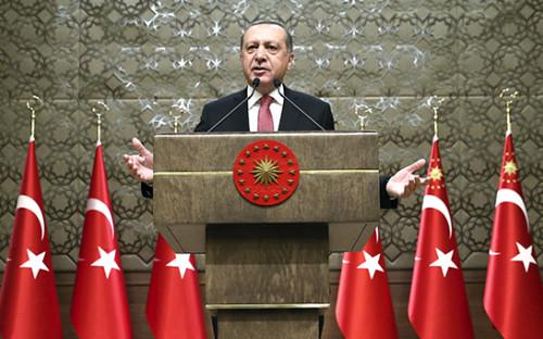 <p>Президент Турции&nbsp;Реджеп Тайип Эрдоган</p>  <p></p>