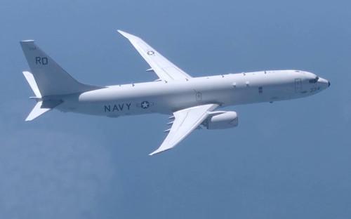 Самолет базовой патрульной авиации ВМС США Р-8А «Посейдон»