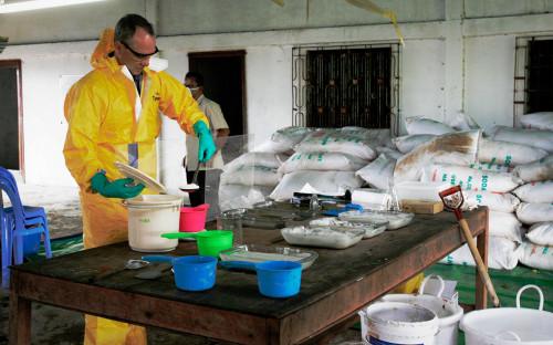 Подпольная лаборатория по производствуметамфетамина