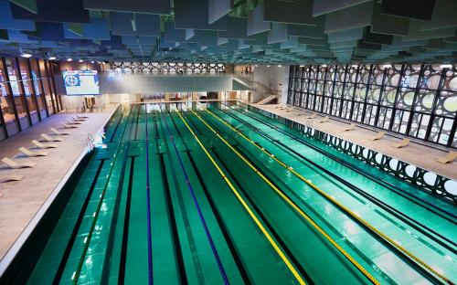 Дворец водных видов спорта в «Лужниках»