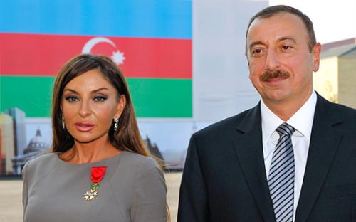 <p>Мехрибан Алиева и Ильхам Алиев</p>  <p></p>
