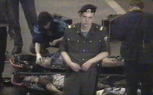 <p><strong>11 июня 1996 года</strong> взрыв самодельного устройства произошел в&nbsp;Москве между&nbsp;станциями метро &laquo;Тульская&raquo; и&nbsp;&laquo;Нагатинская&raquo;. Взрывное устройство мощностью около&nbsp;1&nbsp;кг тротила было заложено под&nbsp;одним из&nbsp;сидений. Погибли четыре человека, еще 16 пострадали. В декабре 1997 года были задержаны двое подозреваемых в&nbsp;совершении теракта, их имена не&nbsp;разглашались.</p>