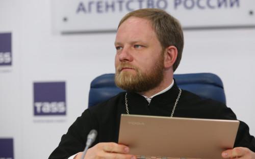 Пресс-секретарь патриарха Московского и всея Руси священник Александр Волков