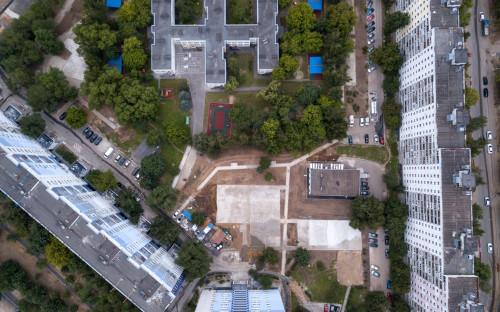 Жилые корпуса в районе Капотня (ЮВАО)