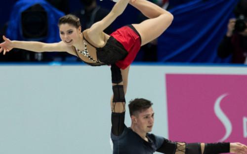 Фото:Анастасия Мишина и Александр Галлямов (Фото: AP)