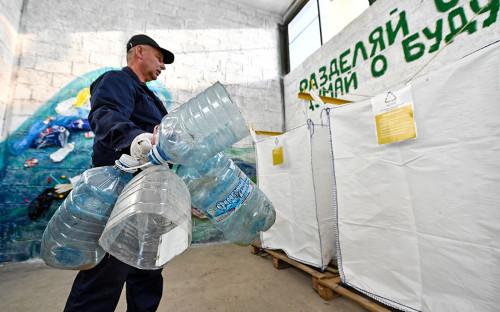 Пункт по раздельному сбору мусора в Приморье
