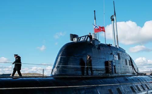 Атомная подводная лодка проекта «Обнинск» на базе Северного морского флота