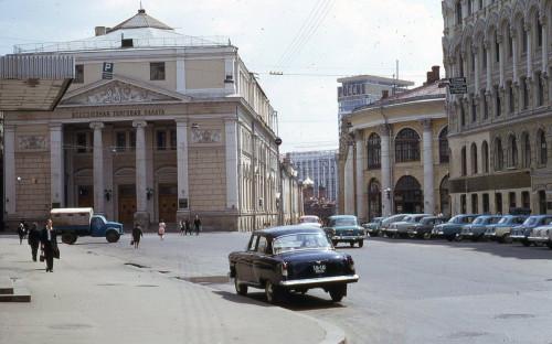 Москва во времена СССР