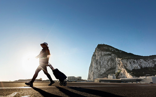 <p>Вид на скалу Гибралтар</p>  <p></p>