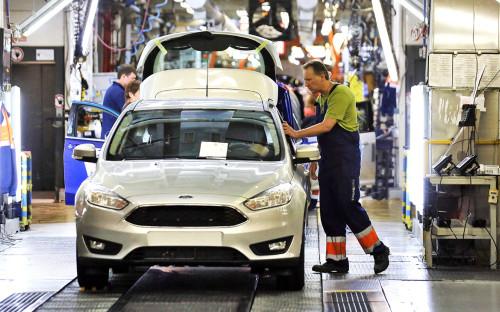 Цех сборки на заводе Ford Sollers
