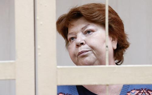 <p>Нина Масляева в Пресненском районном суде</p>  <p></p>