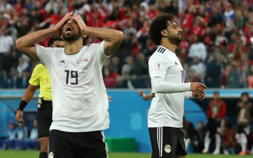 <p>Игроки сборной Египта&nbsp;Абдалла Эль-Саид и Мохамед Салах</p>  <p></p>  <p></p>