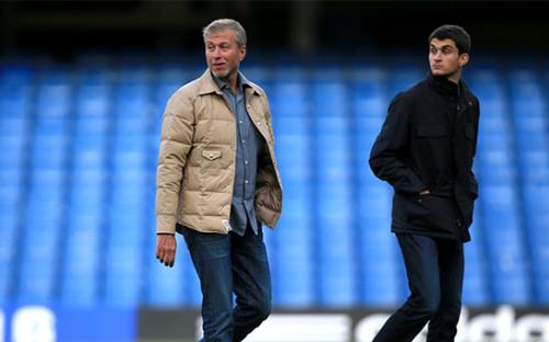 <p>Роман Абрамович (слева) с сыном Аркадием</p>  <p></p>