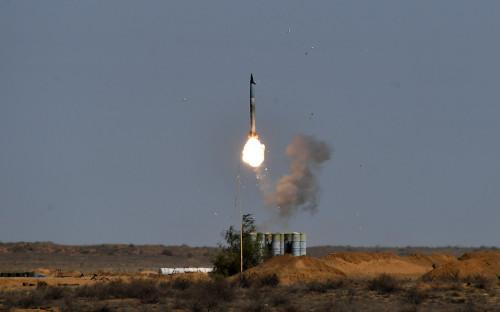 Пусковая установка зенитно-ракетного комплекса С-400