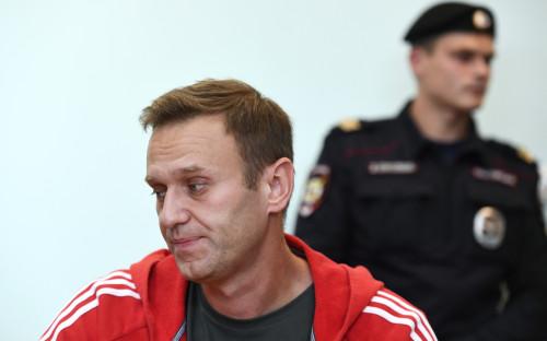 Оцепление у Мосгорсуда, где рассмотрят приговор Навальному. Видео