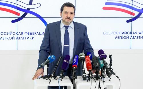 Президент Всероссийской федерации легкой атлетики Евгений Юрченко