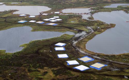 <p>Ликвидация последствий разлива топлива на ТЭЦ-3 в Норильске</p>
