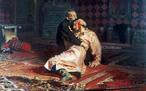 Картина «Иван Грозный и его сын Иван 16 ноября 1581 года»
