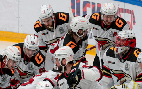 "Фото: Хоккеисты ""Авангарда"" (Фото: Global Look Press)"