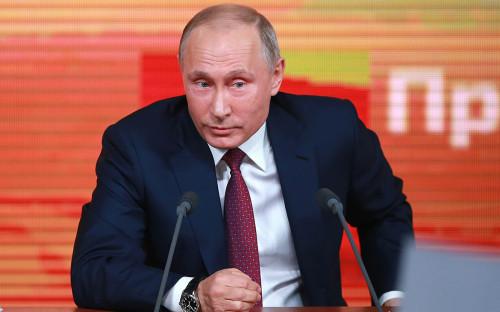 Владимир Путин. Большая пресс-конференция