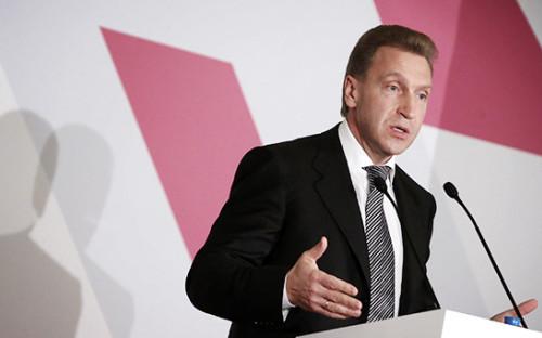 Вице-премьер РФ Игорь Шувалов