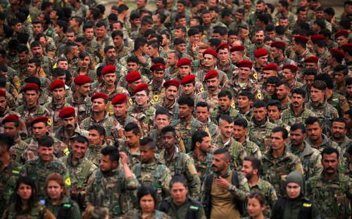 Курдские «Отряды народной самообороны» (YPG)