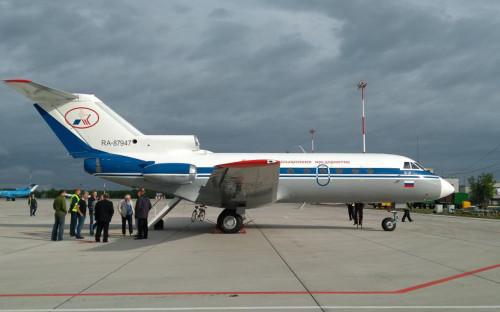 Самолет Як-40