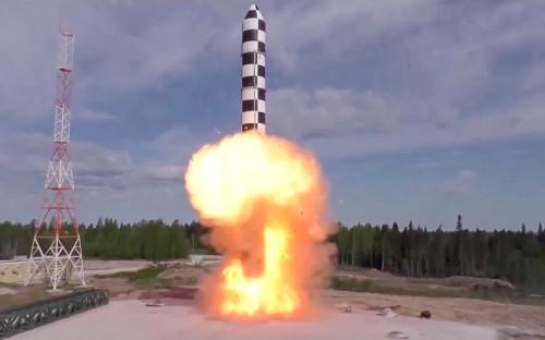 Баллистическая ракета «Сармат»