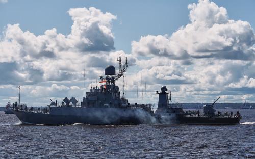 <p>Малый противолодочный корабль &laquo;Казанец&raquo;</p>
